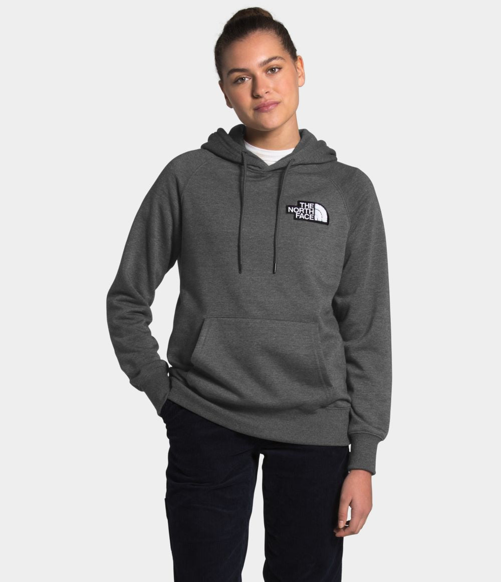 'The North Face' Women's Heritage PO Hoodie - Dark Heather Grey