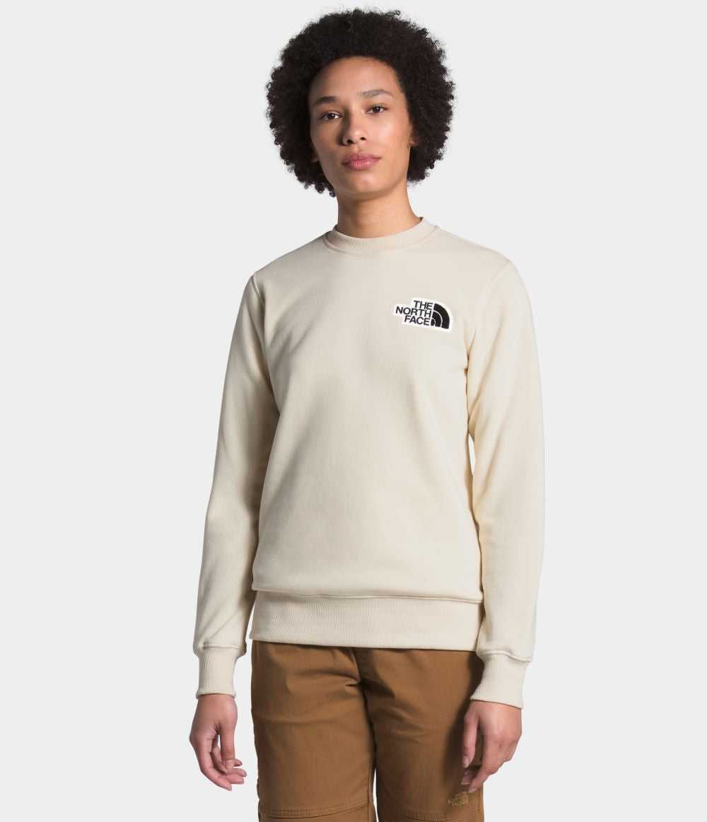 'The North Face' Women's Heritage Crew - Vintage White