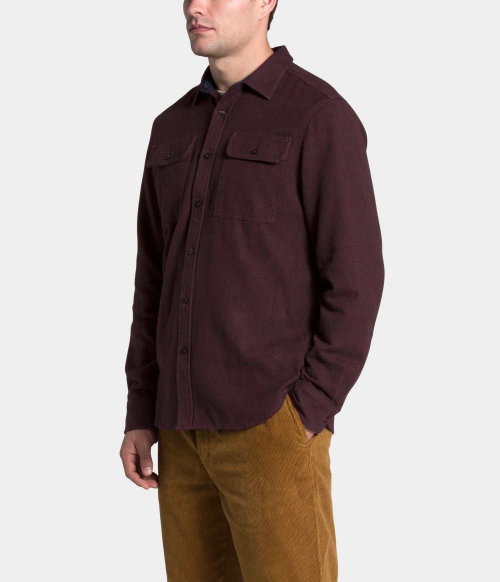 'The North Face' Men's Arroyo Flannel - Root Brown