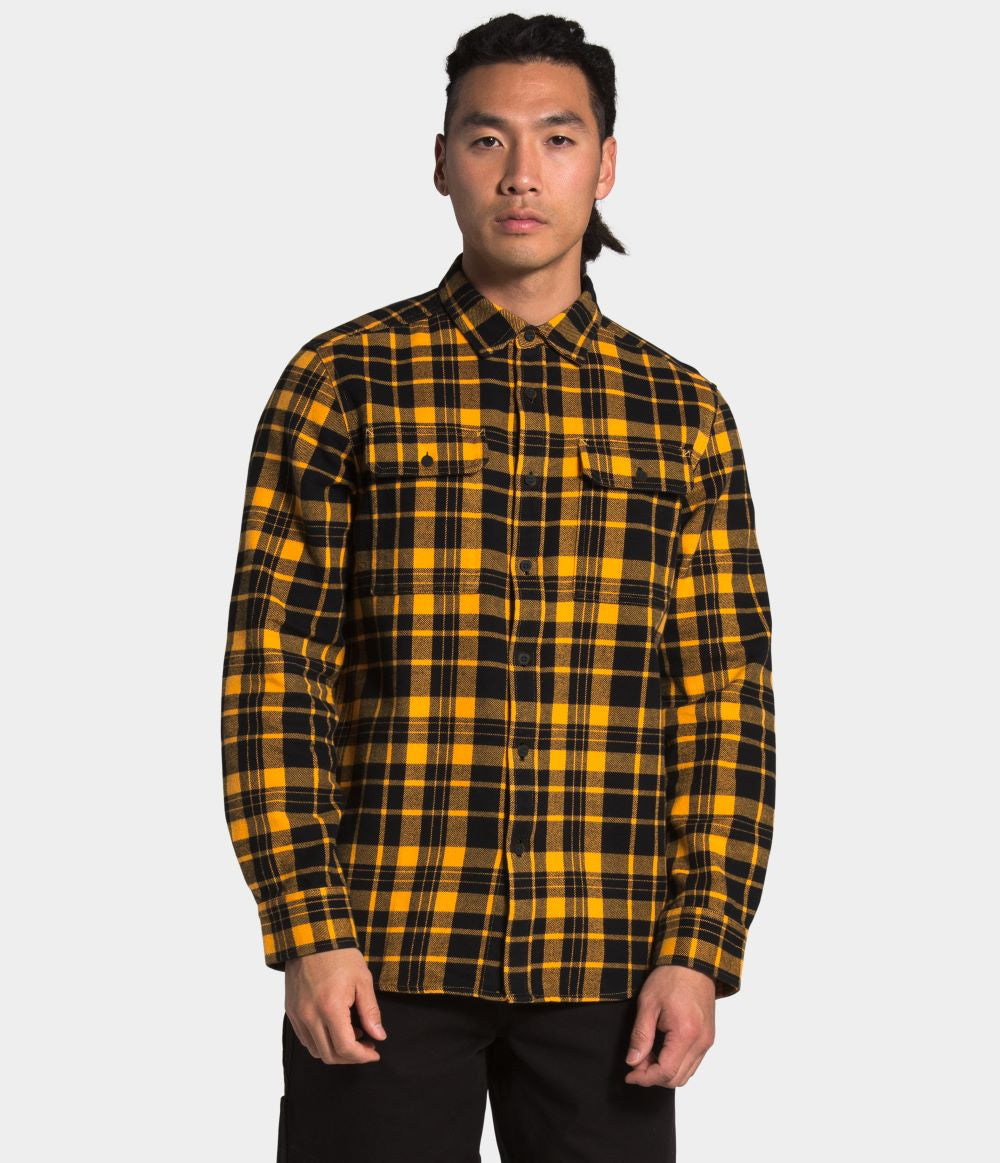 'The North Face' Men's Arroyo Flannel - Summit Gold