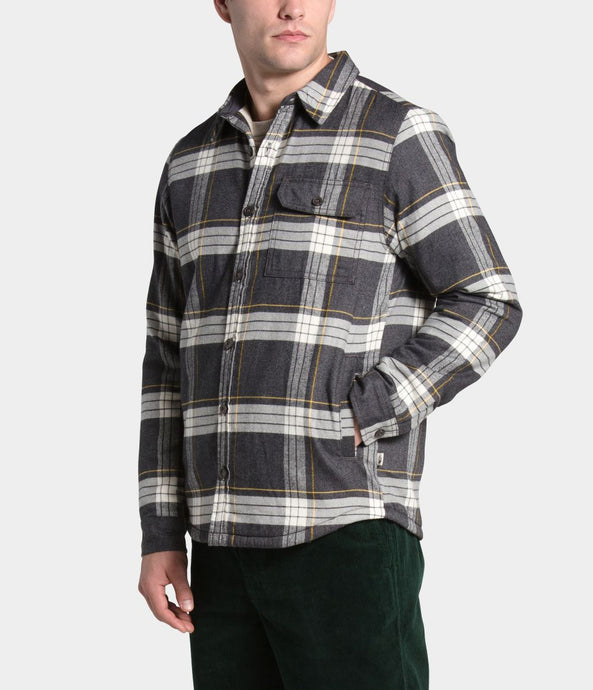'The North Face' Men's Campshire Flannel - Grey Heather