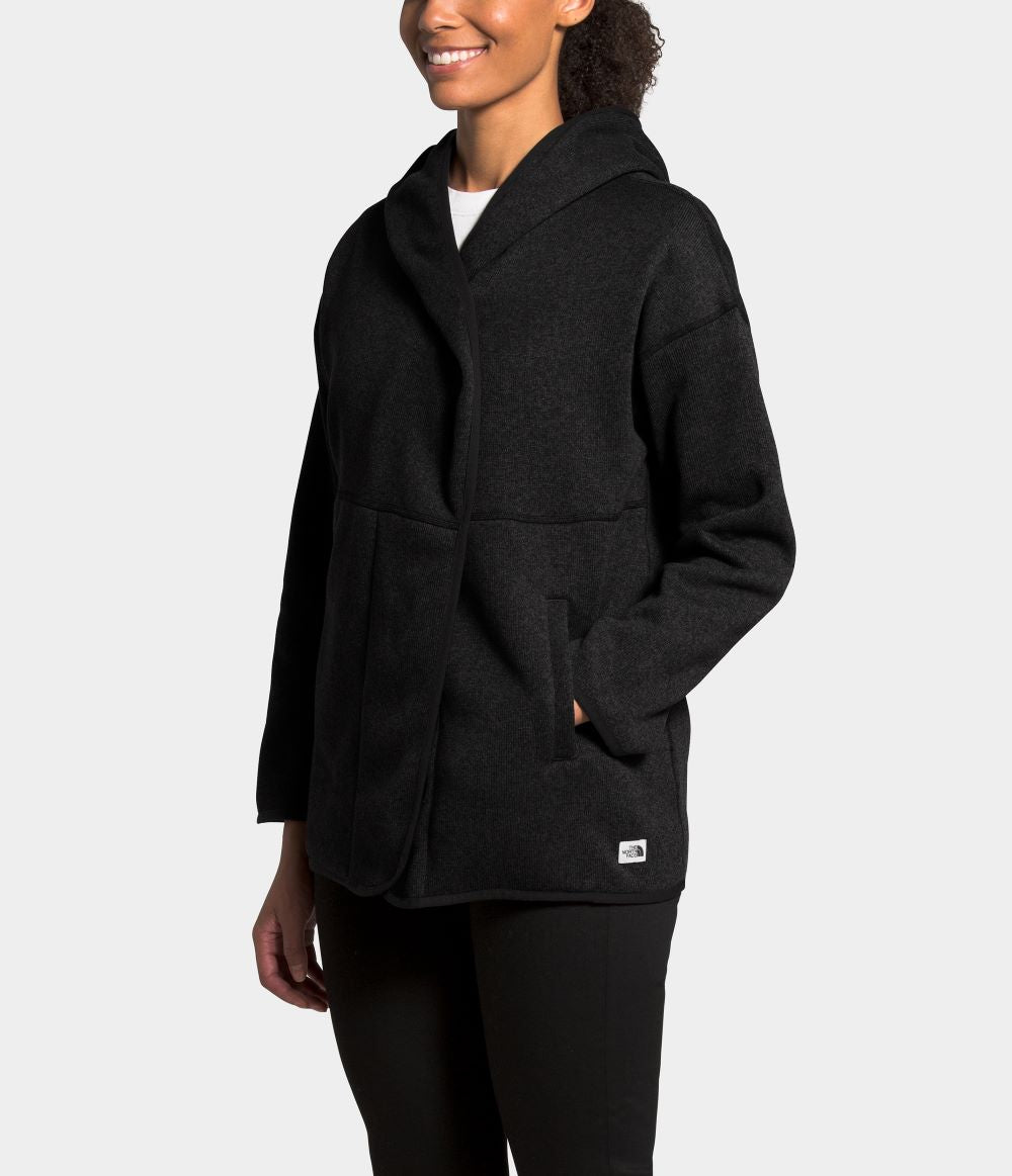 'The North Face' Women's Crescent Wrap - Black Heather / Black