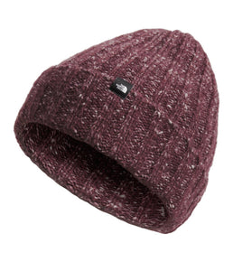 'The North Face' Chunky Rib Beanie - Root Brown