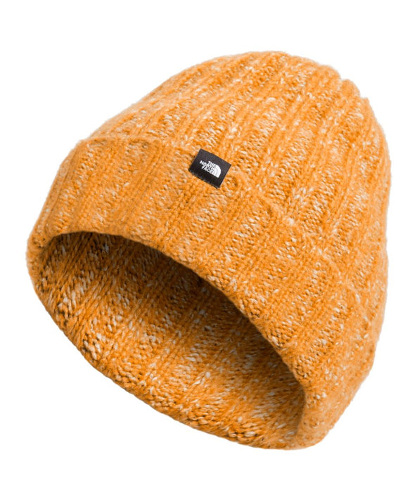 'The North Face' Chunky Rib Beanie - Citrine Yellow
