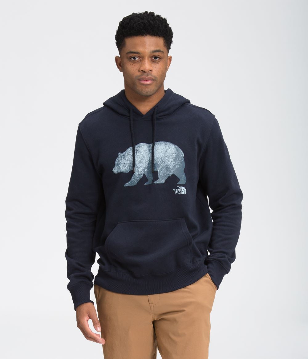 'The North Face' Men's TNF Bear Pullover Hoodie - Aviator Navy