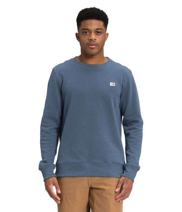 'The North Face' Men's Heritage Patch Crew Sweatshirt - Vintage Indigo