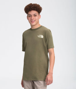 'The North Face' Men's Simple Dome T-Shirt - Burnt Olive