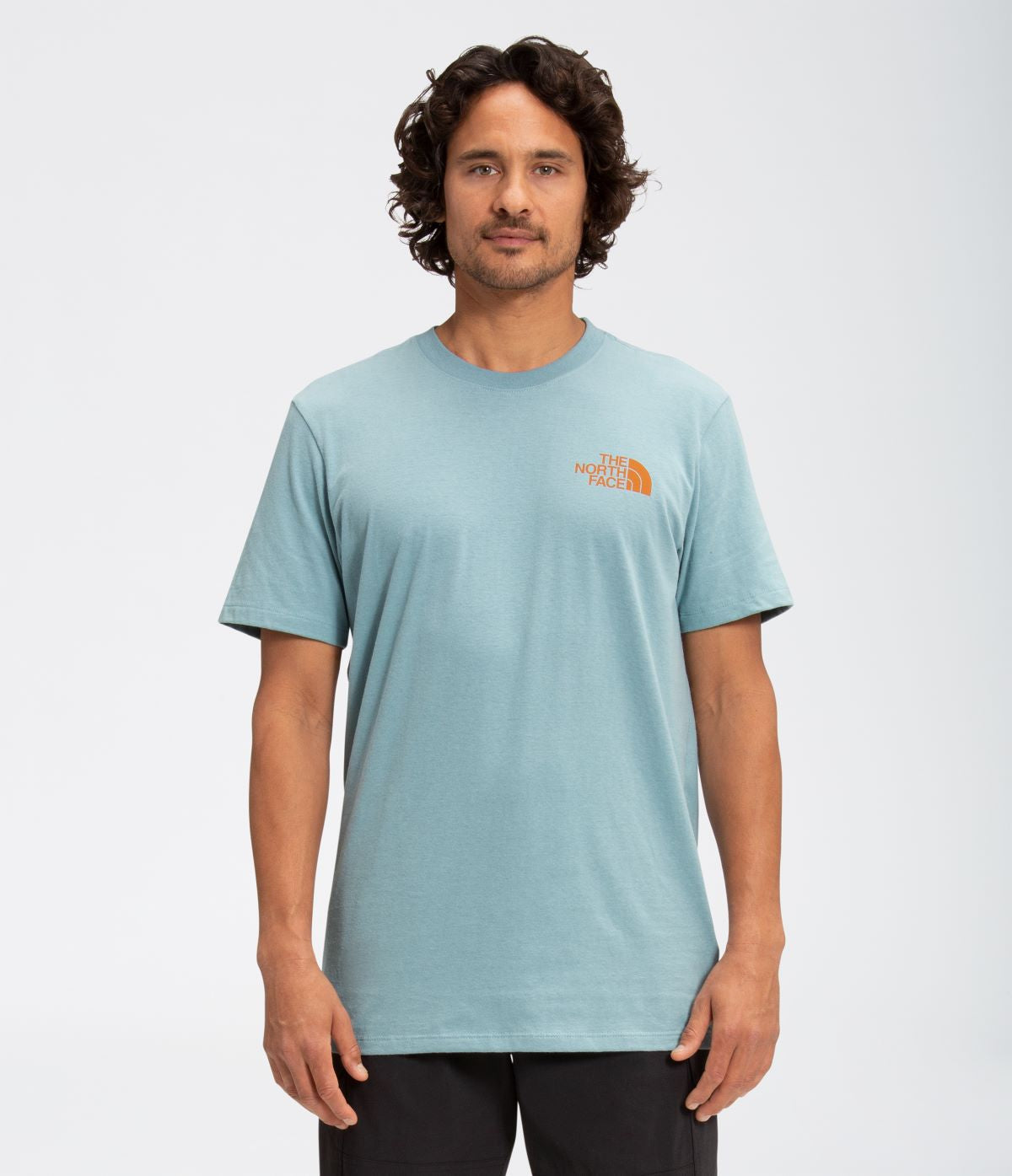 'The North Face' Men's Simple Dome T-Shirt - Tourmaline Blue