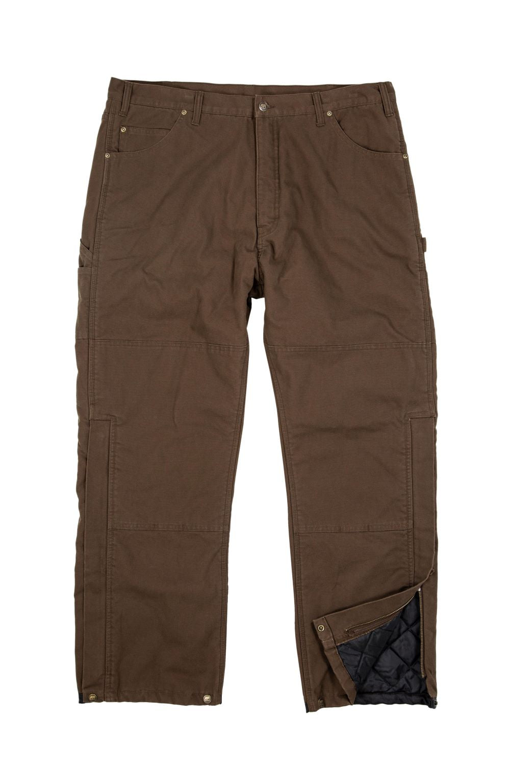 'Berne' Men's Bulldozer Insulated Outer Pant - Bark