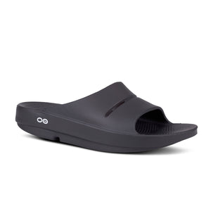 'OOFOS' Women's Ooahh Slide Sandal - Black