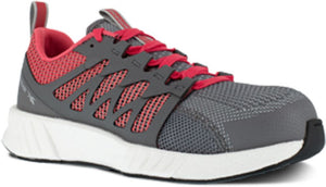 'Reebok' Women's Fusion Flexweave SD Comp Toe - Grey / Red
