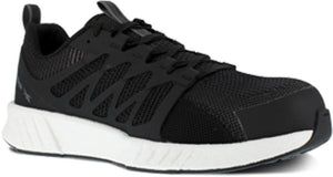 'Reebok' Men's Fusion Flexweave SD Comp Toe - Black / White