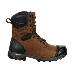 "'Rocky' Men's 8"" XO TOE EH WP Comp Toe - Brown"