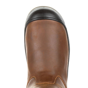 "'Rocky' Men's 11"" Worksmart Int. Met Guard EH WP Comp Toe - Brown"