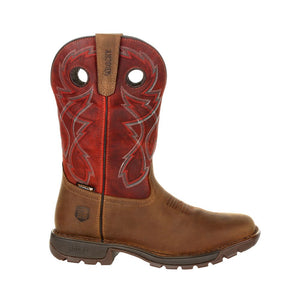 "'Rocky' Men's 11"" Western Legacy 32 WP Soft Toe - Brown / Red"