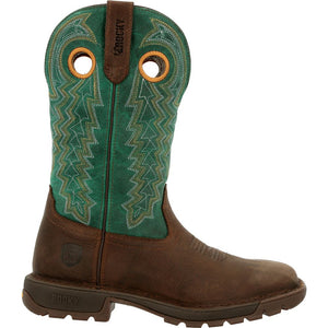 "'Rocky' Women's 11"" Legacy 32 Western - Brown / Teal"