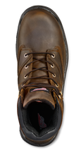 "'Red Wing' Men's 6"" Flexbond Int. Metguard EH Comp Toe - Brown"