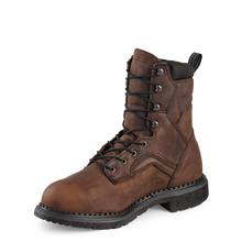 "'Red Wing' Men's 8"" SuperSole®Int. Metguard EH WP Lace Up Steel Toe - Brown"