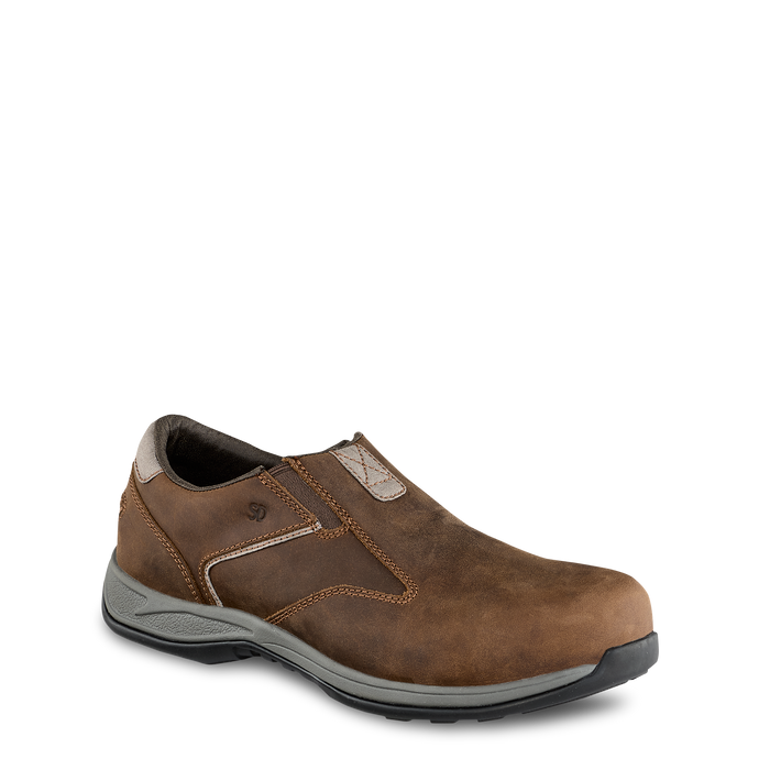 'Red Wing' Men's ComfortPro ESD Slip On Comp Toe - Brown