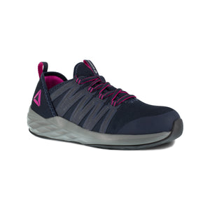 'Reebok' Women's Astride Athletic SR Steel Toe - Navy / Fuschia