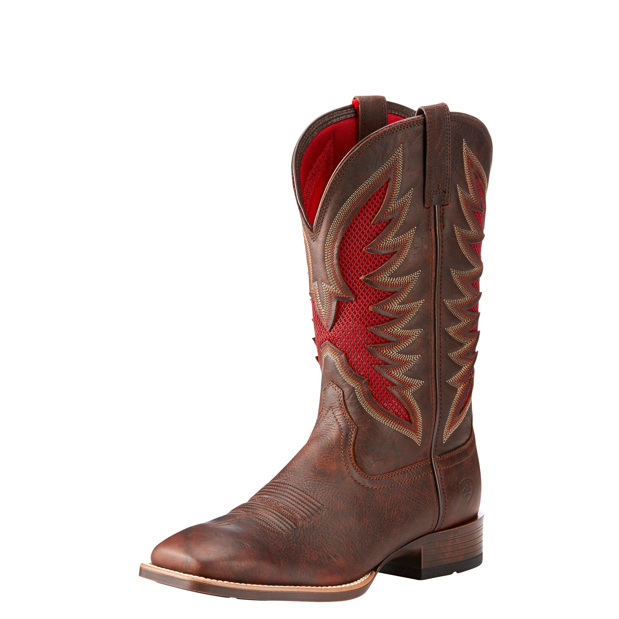 'Ariat' Men's Venttek Ultra - Brown / Red