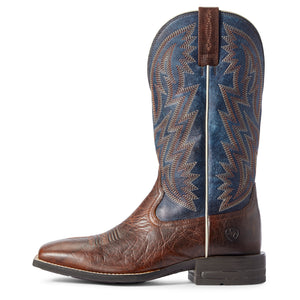 "'Ariat' Men's 13"" Dynamic Western - Brown Patina / Blue Dusk"