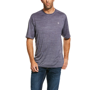 'Ariat' Men's Charger Basic T-Shirt - Graystone