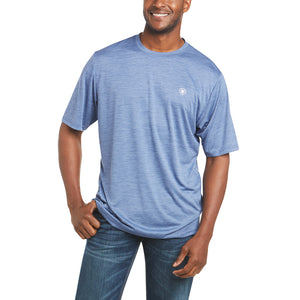 'Ariat' Men's Charger Graphic Flag T-Shirt - Old Bay