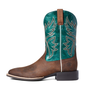 "'Ariat' Men's 11"" Sport Rafter Western Square Toe - Willow Branch"
