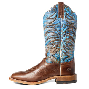 "'Ariat' Men's 13"" Firecatcher Western Square Toe - Well Brown"