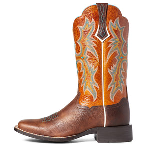 'Ariat' Women's Tombstone Western Square Toe - Hickory