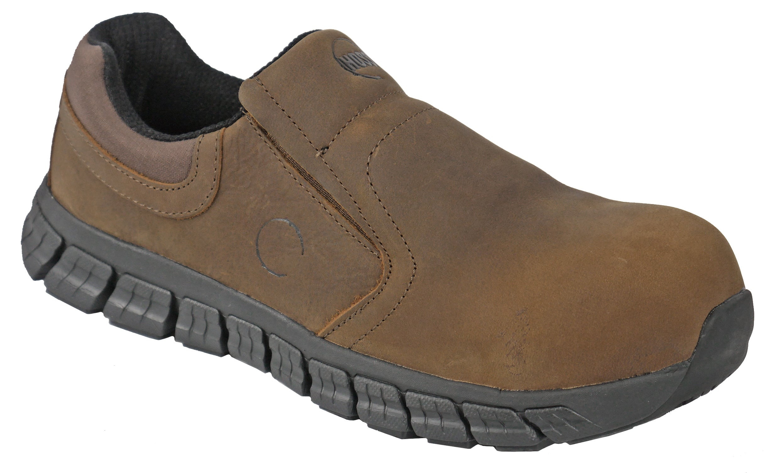 'Hoss Boot' Men's Slipknot ESD Comp Toe Slip On - Brown