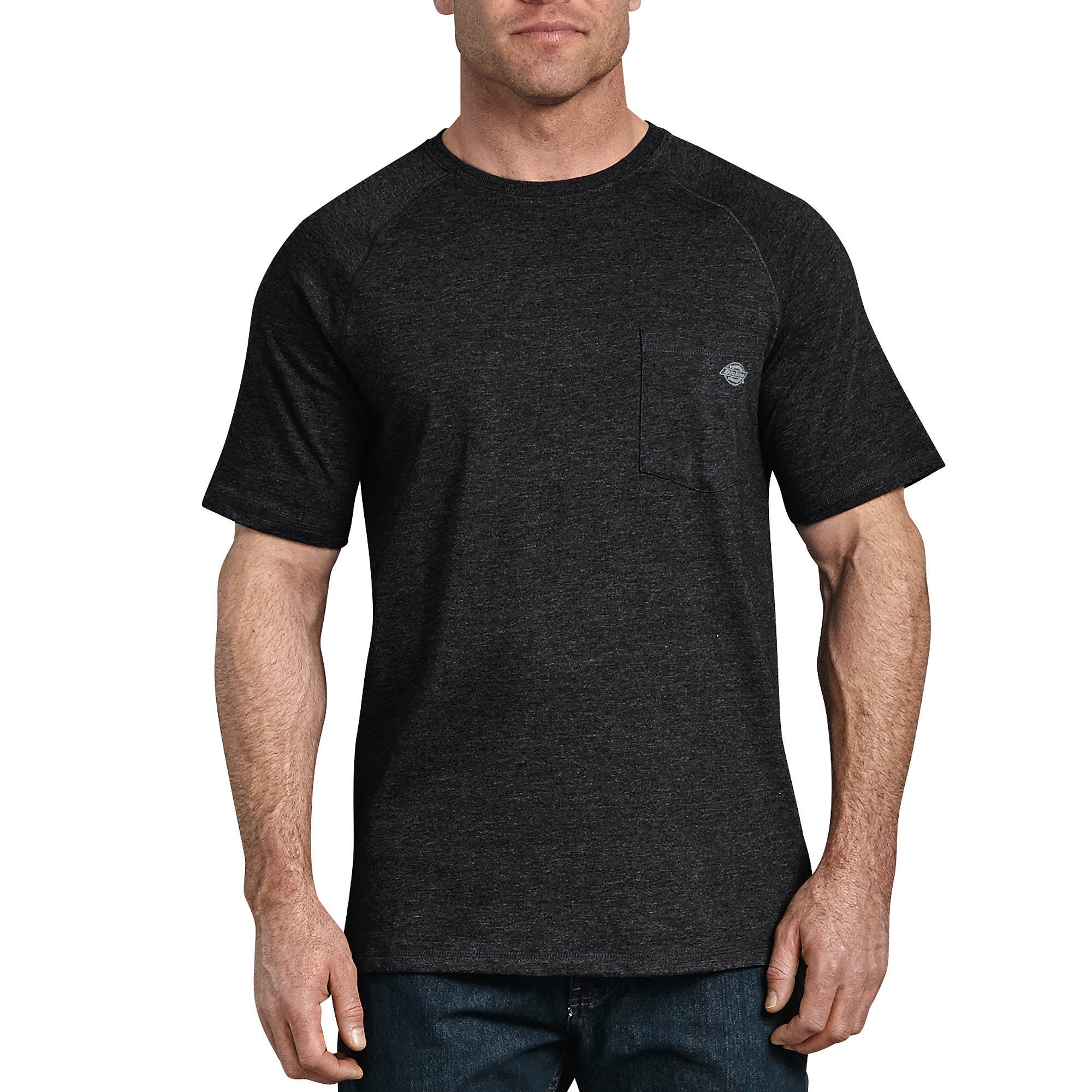 'Dickies' Temp-iQ Performance Cooling T-Shirt - Heather Black