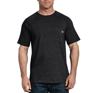 Temp-iQ Performance Cooling T-Shirt - Heather Black
