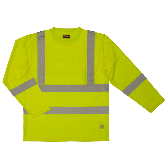 'Tough Duck' Hi-Vis Safety T-Shirt - Green