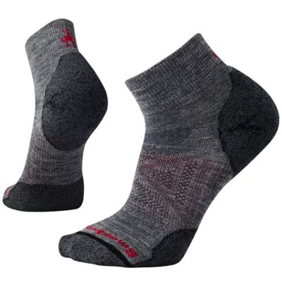 PhD Outdoor Light Mini Socks - Medium Gray / Black