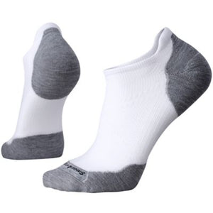 PhD Run Light Elite Micro Sock - White / Light Gray