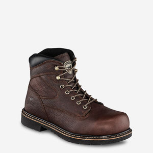 "'Irish Setter' Men's 6"" Farmington King Toe EH Steel Toe - Brown"