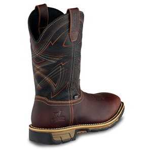 "'Irish Setter' Men's 11"" Marshall EH WP Steel Toe - Brown / Black"