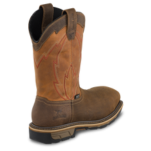 "'Irish Setter' Men's 11"" Marshall EH WP Safety Toe - Tan / Brown"
