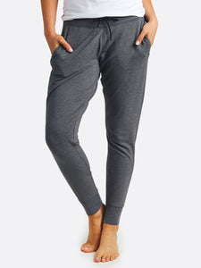 'TASC' Women's Studio Bamboo Jogger - Black Heather