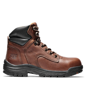 "'Timberland Pro' 26388 - Titan 6"" Alloy Toe Boot - Coffee Full-Grain"