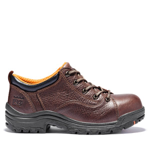 'Timberland Pro' Women's Titan Oxford Alloy Toe - Brown Full-Grain