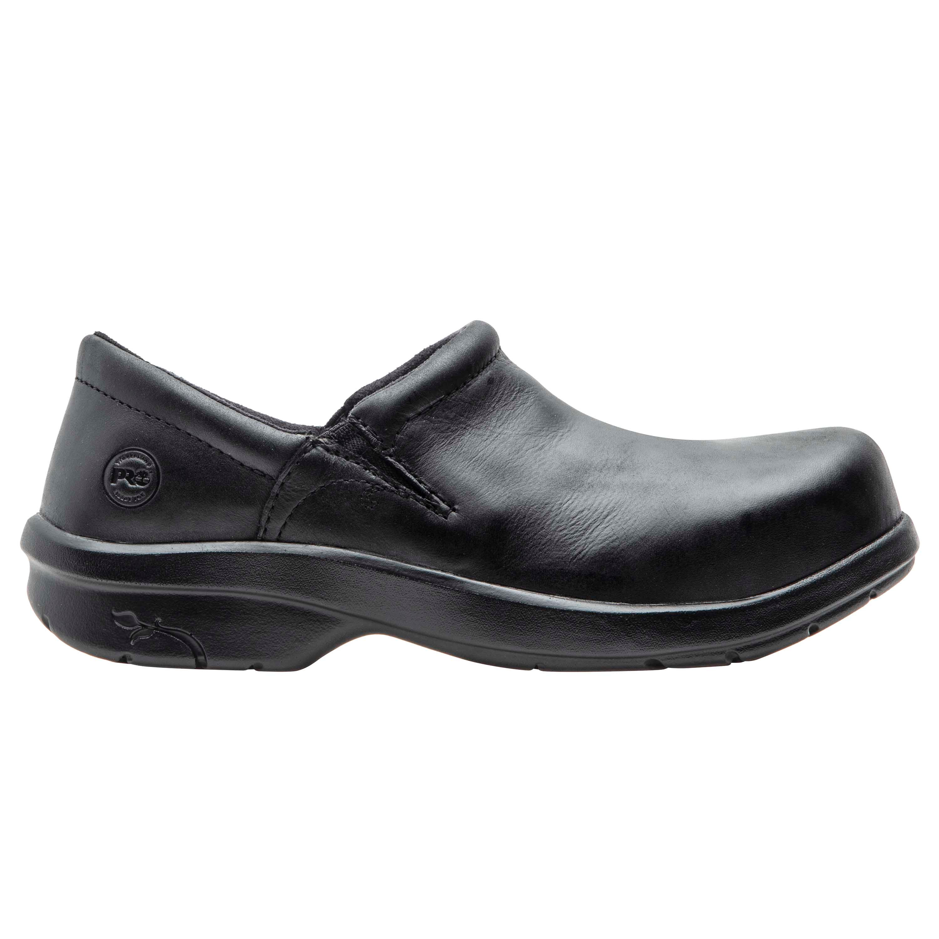 'Timberland Pro' Women's Newbury ESD Slip On Alloy Toe - Black