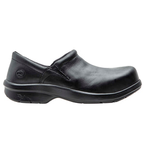 Newbury ESD Slip On Alloy Toe Shoe - Black