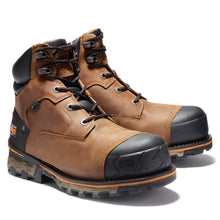 "'Timberland Pro' Men's 6"" Boondock WP Soft Toe - Oil Distressed Brown / Black"