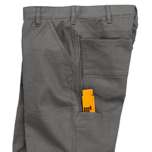'Timberland Pro' Men's Gridflex Canvas Work Pant - Pewter Grey