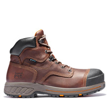 "'Timberland Pro' Men's 6"" Helix HD WP Comp Toe - Dark Brown / Black"