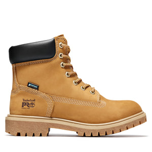 "'Timberland Pro' Women's 6"" Direct Attach Insulated WP Steel Toe - Wheat Nubuck / Tan"
