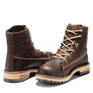 "'Timberland Pro' Women's 6"" Hightower EH Alloy Toe - Dark Brown"